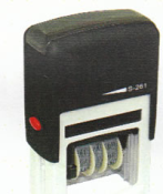 Order self-inking date stamp at directrubberstamps.com. Quick turnaround times!