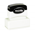 "Customizable 11/16"" x 1-15/16"" pre-inked rubber stamps for office or home use. Upload logos and typeset right on our website directrubberstamps.com. Volume discounts available with fast turnaround times!"