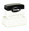 "Customizable 1"" x 2"" pre-inked rubber stamps for office or home use. Upload logos and typeset right on our website directrubberstamps.com. Volume discounts available with fast turnaround times!"