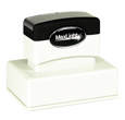 "Customizable 1-1/2"" x 2-1/2"" pre-inked rubber stamps for office or home use. Upload logos and typeset right on our website directrubberstamps.com. Volume discounts available with fast turnaround times!"