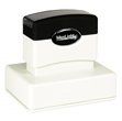 "Customizable 2-1/16"" x 3"" pre-inked rubber stamps for office or home use. Upload logos and typeset right on our website directrubberstamps.com. Volume discounts available with fast turnaround times!"