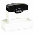 "Customizable 1-1/4"" x 3-3/16"" pre-inked rubber stamps for office or home use. Upload logos and typeset right on our website directrubberstamps.com. Volume discounts available with fast turnaround times!"