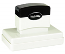 "Customizable 1-7/8"" x 3-7/8"" pre-inked rubber stamps for office or home use. Upload logos and typeset right on our website directrubberstamps.com. Volume discounts available with fast turnaround times!"