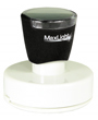 "Customizable 2"" diameter pre-inked rubber stamps for office or home use. Upload logos and typeset right on our website directrubberstamps.com. Volume discounts available with fast turnaround times!"
