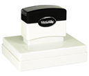 "Customizable 2-3/4"" x 3-3/4"" pre-inked rubber stamps for office or home use. Upload logos and typeset right on our website directrubberstamps.com. Volume discounts available with fast turnaround times!"
