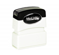 "Customizable 1/2"" x 1-11/16"" pre-inked rubber stamps for office or home use. Upload logos and typeset right on our website directrubberstamps.com. Volume discounts available with fast turnaround times!"