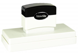 "Customizable 1-1/2"" x 4-3/4"" pre-inked rubber stamps for office or home use. Upload logos and typeset right on our website directrubberstamps.com. Volume discounts available with fast turnaround times!"