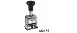 Order your 6-band automatic numbering machine stamp from directrubberstamps.com. Fast turnaround times!!!!