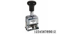 Order your 12-band automatic numbering machine stamp from directrubberstamps.com. Fast turnaround times!!!!